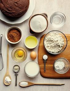 04-12-13-Sandra Sheih's Chocolate Cake Ingredients